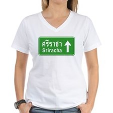 Sriracha Highway Sign Shirt