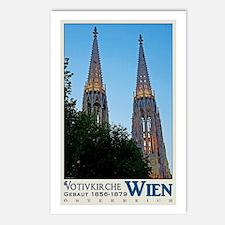Vienna Votivkirche Postcards (Package of 8)