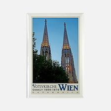 Vienna Votivkirche Rectangle Magnet (10 pack)