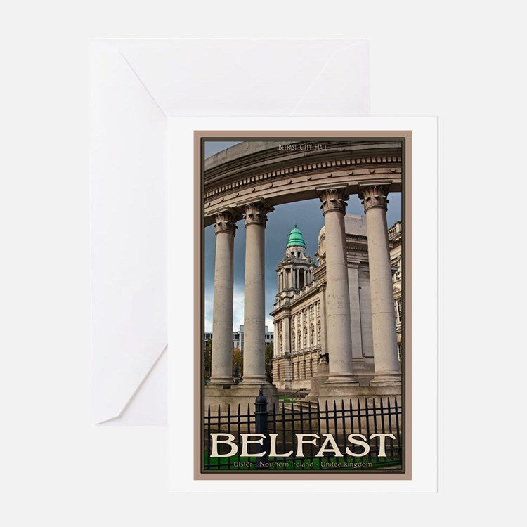 Belfast City Hall Greeting Card