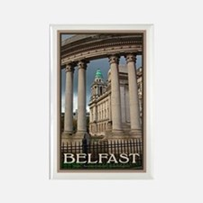 Belfast City Hall Rectangle Magnet