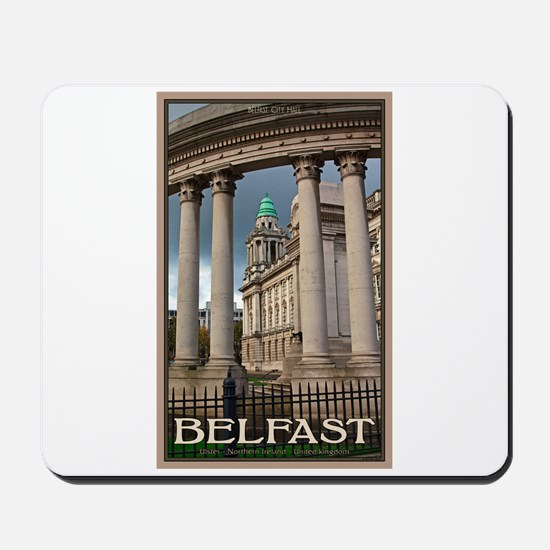 Belfast City Hall Mousepad