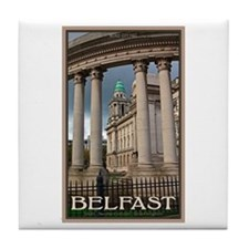 Belfast City Hall Tile Coaster