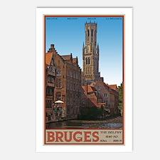 The Bruges Belfry Postcards (Package of 8)