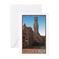 The Bruges Belfry Greeting Card
