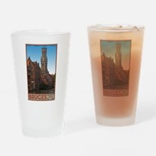 The Bruges Belfry Pint Glass