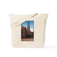 The Bruges Belfry Tote Bag