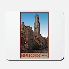 The Bruges Belfry Mousepad