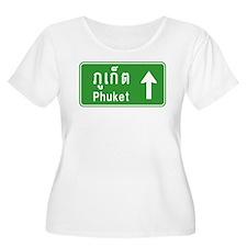 Phuket Highway Traffic Sign T-Shirt