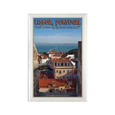View from St. George's Rectangle Magnet (10 pack)