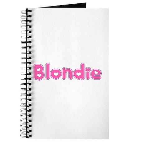 """""""Blondie"""" Journal"""