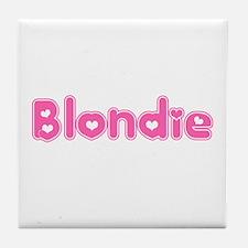 """""""Blondie"""" Tile Coaster"""