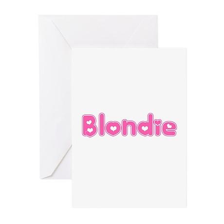 """""""Blondie"""" Greeting Cards (Pk of 10)"""
