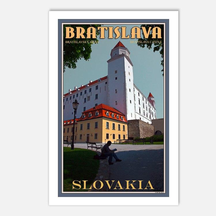 Bratislava Castle Postcards (Package of 8)