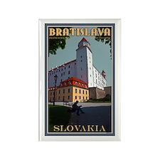Bratislava Castle Rectangle Magnet