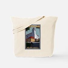 Bratislava Castle Tote Bag