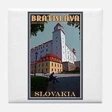 Bratislava Castle Tile Coaster
