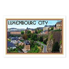 Luxembourg City Postcards (Package of 8)