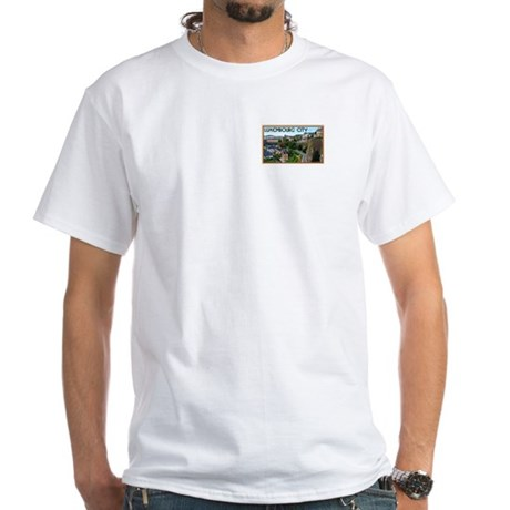 Luxembourg City White T-Shirt