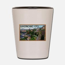 Luxembourg City Shot Glass