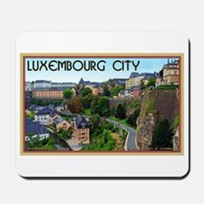 Luxembourg City Mousepad