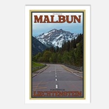 The Road to Malbun Postcards (Package of 8)