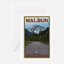 The Road to Malbun Greeting Card