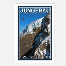 Helo over the Jungfraujoch Postcards (Package of 8