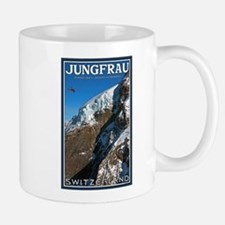 Helo over the Jungfraujoch Mug