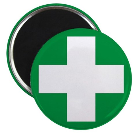 """First Aid 2.25"""" Magnet (10 pack)"""
