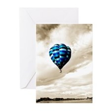 Floating Blue Greeting Cards (Pk of 10)