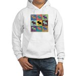 Multi-Moose Hooded Sweatshirt