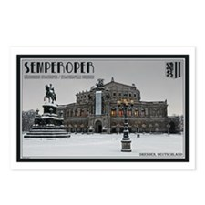 Winter at the Semperoper Postcards (Package of 8)