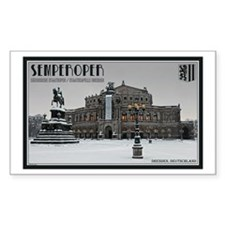 Winter at the Semperoper Decal