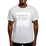 Geology Mens Light T-shirts