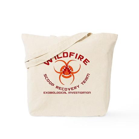 Andromeda Strain Wildfire Tote Bag