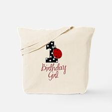Birthday Girl - LADYBUG 1 Tote Bag
