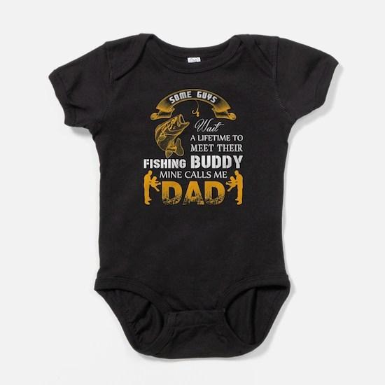 Fishing Buddy T Shirt, Dad T Shirt Body Suit