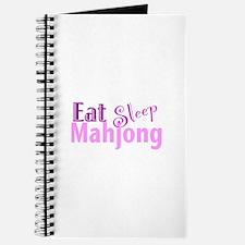 Eat Sleep Mahjong Journal