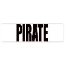 Pirate Bumper Bumper Sticker