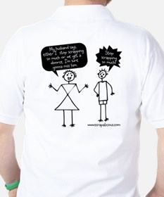 My Husband Says...Stop Scrapping! T-Shirt