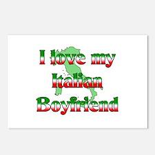 I Love my Italian Boyfriend Postcards (Package of