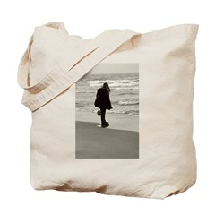 looking out to the lake Tote Bag