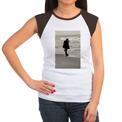 looking out to the lake Women's Cap Sleeve T-Shirt