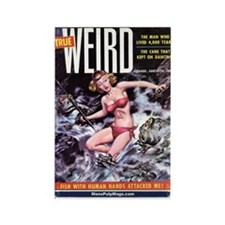 TRUE WEIRD, Nov. 1955 Rectangle Magnet