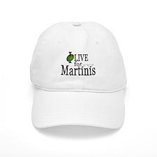 """Martinis"" Baseball Cap"