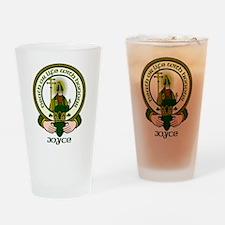 Joyce Clan Motto Pint Glass
