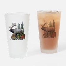 Bull Elk Pint Glass