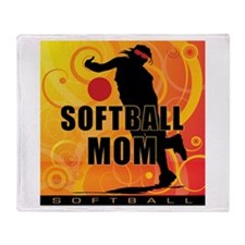 2011 Softball 112 Throw Blanket