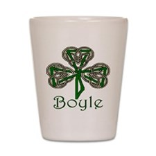 Boyle Shamrock Shot Glass